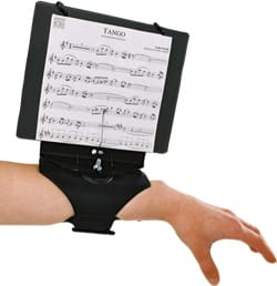 Accessoire pour Flûte Traversière - FLIP / FLOP Sheet Music Wristband for FLUTE TRAVERSIERE - Accessory - di-arezzo.co.uk