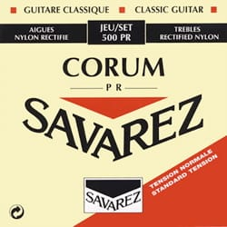Cordes pour Guitare Classique - SET OF ROPES SAVAREZ - 500PR - ALLIANCE CORUM RED - Accessory - di-arezzo.co.uk