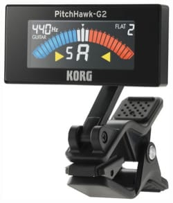 Accordeur pour Guitare - AW-3G2 KORG - Chromatic Clamp Tuner for GUITAR and BASS - Accessory - di-arezzo.co.uk