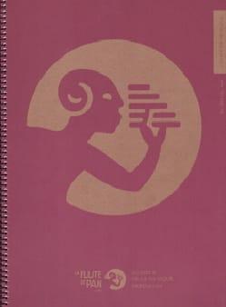 Cahier de Musique à spirale, SPECIAL HARMONIE - 16 portées : 4X4 portées laflutedepan