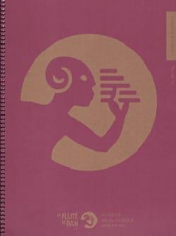 Cahier de Musique à spirale, 14 portées par page laflutedepan