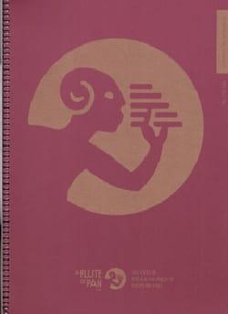 Cahier de Musique - Spirale Mixte 12 Portées et Carreaux Seyès laflutedepan