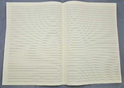 Papier à Musique - 32 portées - Grand Format - laflutedepan.com