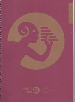 Cahier de Musique à spirale, 12 portées par page - laflutedepan.com