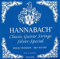 Cordes pour Guitare HANNABACH - Guitar String Set HANNABACH 815 Silver Special BLUE - Strong Tension - Accessory - di-arezzo.co.uk