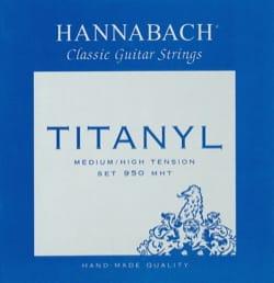 Cordes pour Guitare HANNABACH - JEU de Cordes pour Guitare HANNABACH 950 TITANYL - Tension Medium/High - Accessoire - di-arezzo.fr