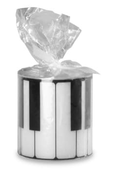 Cadeaux - Musique - Round candle - Piano Keyboard - Accessory - di-arezzo.co.uk