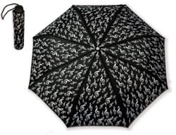 Cadeaux - Musique - Small Umbrella BLACK - SOLID KEY - Accessory - di-arezzo.co.uk