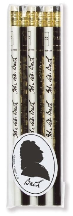 Cadeaux - Musique - Set of 6 pencils - BACH - Accessory - di-arezzo.co.uk