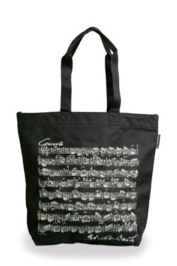 Cadeaux - Musique - Shopping bag - BLACK - BACH - Accessory - di-arezzo.co.uk