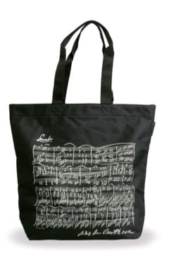 Cadeaux - Musique - Shopping bag - NERO - BEETHOVEN - Accessorio - di-arezzo.it