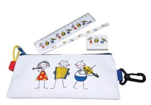 Cadeaux - Musique - Stationery Set - LITTLE PHILHARMONICS - Accessory - di-arezzo.co.uk