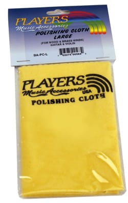 Accessoire pour Clarinette - Polishing Cloth, Large Model PLAYERS - Accessory - di-arezzo.co.uk