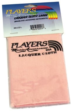 Accessoire pour Trompette - Polishing Cloth, Large Model PLAYERS - Lacquered Surface - Accessory - di-arezzo.co.uk