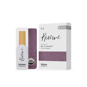 D'Addario Réserve Classic - Anches Clarinette Sib 2.5 laflutedepan