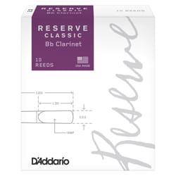 D'Addario Réserve Classic - Anches Clarinette Sib 4+ laflutedepan