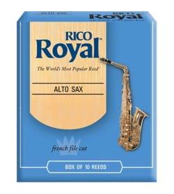 D'Addario Rico Royal - Anches Saxophone Alto 3.5 laflutedepan