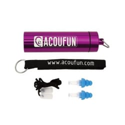 Protections auditives ACOUFUN - 20dB Junior laflutedepan