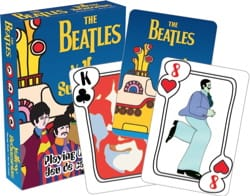 Jeu Musical - THE BEATLES Card Game - YELLOW SUBMARINE - Accessory - di-arezzo.com