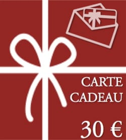 BON CADEAU - CARTE CADEAU - Valeur de 30 € - laflutedepan.com
