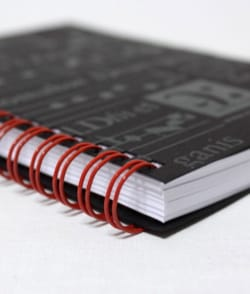 Cadeaux - Musique - Spiral music notebook - Sainte Cécile - Stationery - di-arezzo.co.uk
