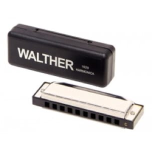 Instrument de Musique : Harmonica - WALTHER Harmonica - RICHTER model in C major with 20 notes - Accessoire - di-arezzo.co.uk