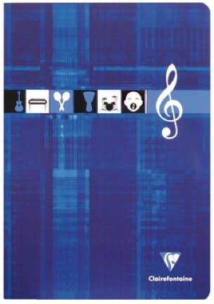 Papeterie Musicale - CLAIREFONTAINE Music Notebook - Music and Singing - Papier - di-arezzo.co.uk