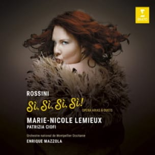Marie-Nicole LEMIEUX : Sì Sì Sì Sì ! Airs & Duos de Rossini - laflutedepan.com