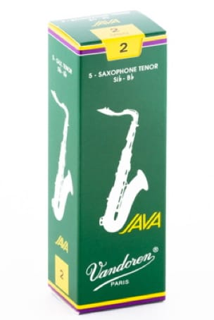 Anches pour Saxophone Ténor VANDOREN® - 5 VANDOREN reeds JAVA series for TENOR force 2 SAXOPHONE - Accessoire - di-arezzo.co.uk