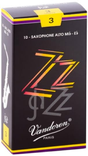 Anches pour Saxophone Alto VANDOREN® - Box of 10 reeds VANDOREN ZZ series for SAXOPHONE ALTO force 3 - Accessoire - di-arezzo.co.uk