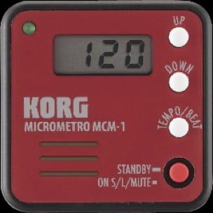 Métronome Electronique - Metronome Music Micrometro KORG Red - Accessoire - di-arezzo.co.uk