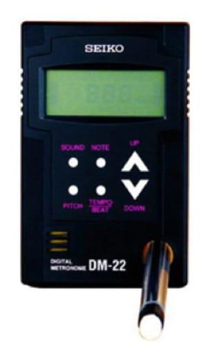 Métronome SEIKO DM-22 - Métronome - Accessoire - laflutedepan.com