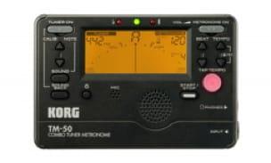 Accordeur & Métronome - TM-50 BLACK KORG - Metronom und Tuner - Accessoire - di-arezzo.de