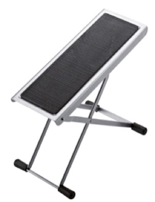 Accessoire pour Guitare - Footrest guitarist adjustable color Nickel plated KM - Accessoire - di-arezzo.co.uk