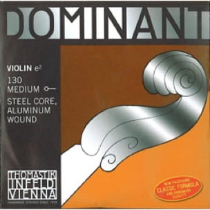 Cordes pour Violon DOMINANT - Rope only: MI for VIOLIN 4/4 - DOMINANT - MEDIUM to BALL - Accessoire - di-arezzo.com