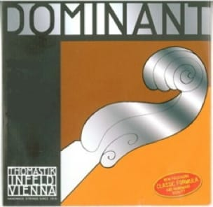 Cordes pour Violon DOMINANT - SET OF strings for VIOLIN 3/4 - DOMINANT - Tirant MEDIUM with MI spun - Accessoire - di-arezzo.co.uk