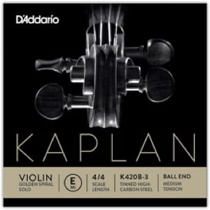 Cordes pour Violon - Rope Only: MI Violin KAPLAN GOLDEN SPIRAL Solo Ball - Tying MEDIUM - Accessoire - di-arezzo.com