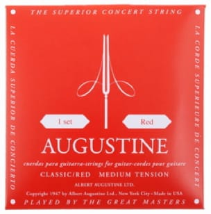 Cordes pour Guitare AUGUSTINE - AUGUSTINE Classical Guitar String Set for Normal Guitar - Accessoire - di-arezzo.com