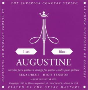 Cordes pour Guitare AUGUSTINE - Set di corde per chitarra REAL Blue AUGUSTINE - Accessoire - di-arezzo.it