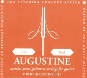 Cordes pour Guitare AUGUSTINE - AUGUSTINE Red Guitar String Set Normal pulling - Accessoire - di-arezzo.com