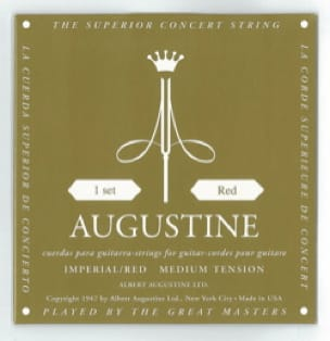Cordes pour Guitare AUGUSTINE - AUGUSTINE Red Imperial String Strings for Guitar - Accessoire - di-arezzo.com