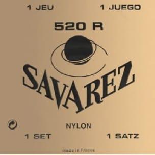 Cordes pour Guitare Classique - JEU de Cordes pour Guitare SAVAREZ 520R - Accessoire - di-arezzo.fr
