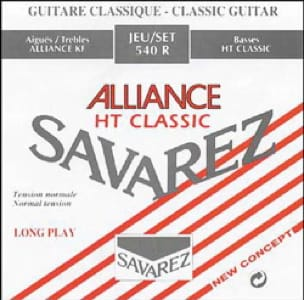 Cordes pour Guitare Classique - Guitar String Set SAVAREZ ALLIANCE RED Standard Pull - Accessoire - di-arezzo.com