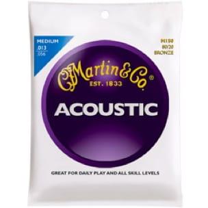 Cordes pour Guitare - Guitar String Set MARTIN FOLK Bronze Medium - 13-56 - Accessoire - di-arezzo.com