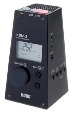 Métronome Electronique - KDM-3 Metronome KORG Black - Accessoire - di-arezzo.com
