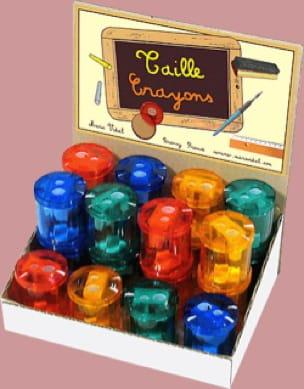 Taille-crayons tonneau - Papeterie Musicale - laflutedepan.com