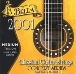 Cordes pour Guitare - LA BELLA 2001 Classic Guitar String Set - Medium Hard Voltage - Accessoire - di-arezzo.co.uk