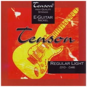 Cordes pour Guitare - Gewa Tenson Nickel Electric Guitar String Set - Game 010-046 - Accessoire - di-arezzo.com