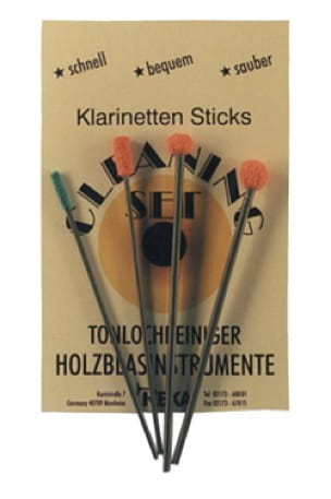 Accessoire pour Clarinette - Kit de mantenimiento - bastoncillos de algodón para chimeneas de clarinete REKA - Accessoire - di-arezzo.es