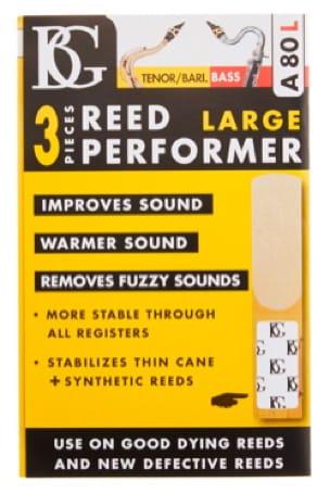 Booster d'anche BG-A80L pour Saxophone Ténor, Baryton et Clarinette Basse (Lot d - laflutedepan.com